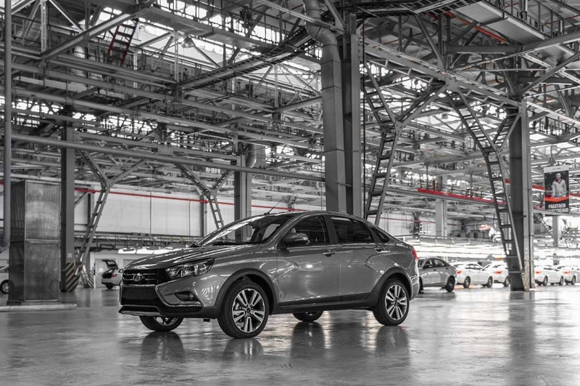 LADA Vesta Cross – the serial production has been launched